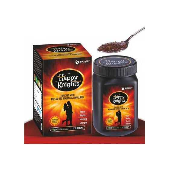 Happy Knights (1kg) Erectile Dysfunction, Premature Ejaculation, oligospermia, Loss of Libido, Aphrodisiac, Stamina Booster,