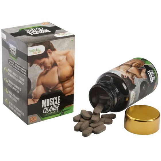 Nature Sure™ Muscle Charge Tablets for Men – 1 Pack (60 Tablets)