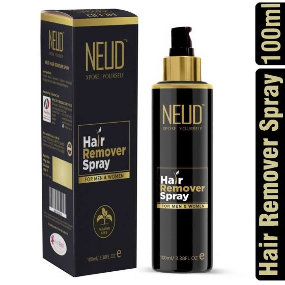 NEUD Hair Remover Spray for Men and Women  - 1 Pack (100ml)