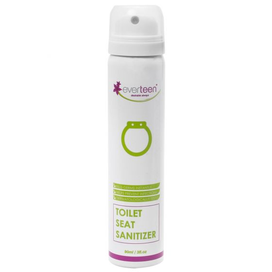 everteen Instant Toilet Seat Sanitizer Spray for Women – 90ml